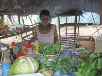 Cooking from local vegetables in Numba