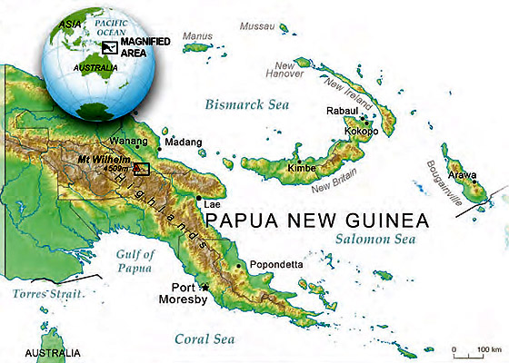 Papua new guinea mt wilhelm conservation and research area mt wilhelm papua new guinea sciox Image collections