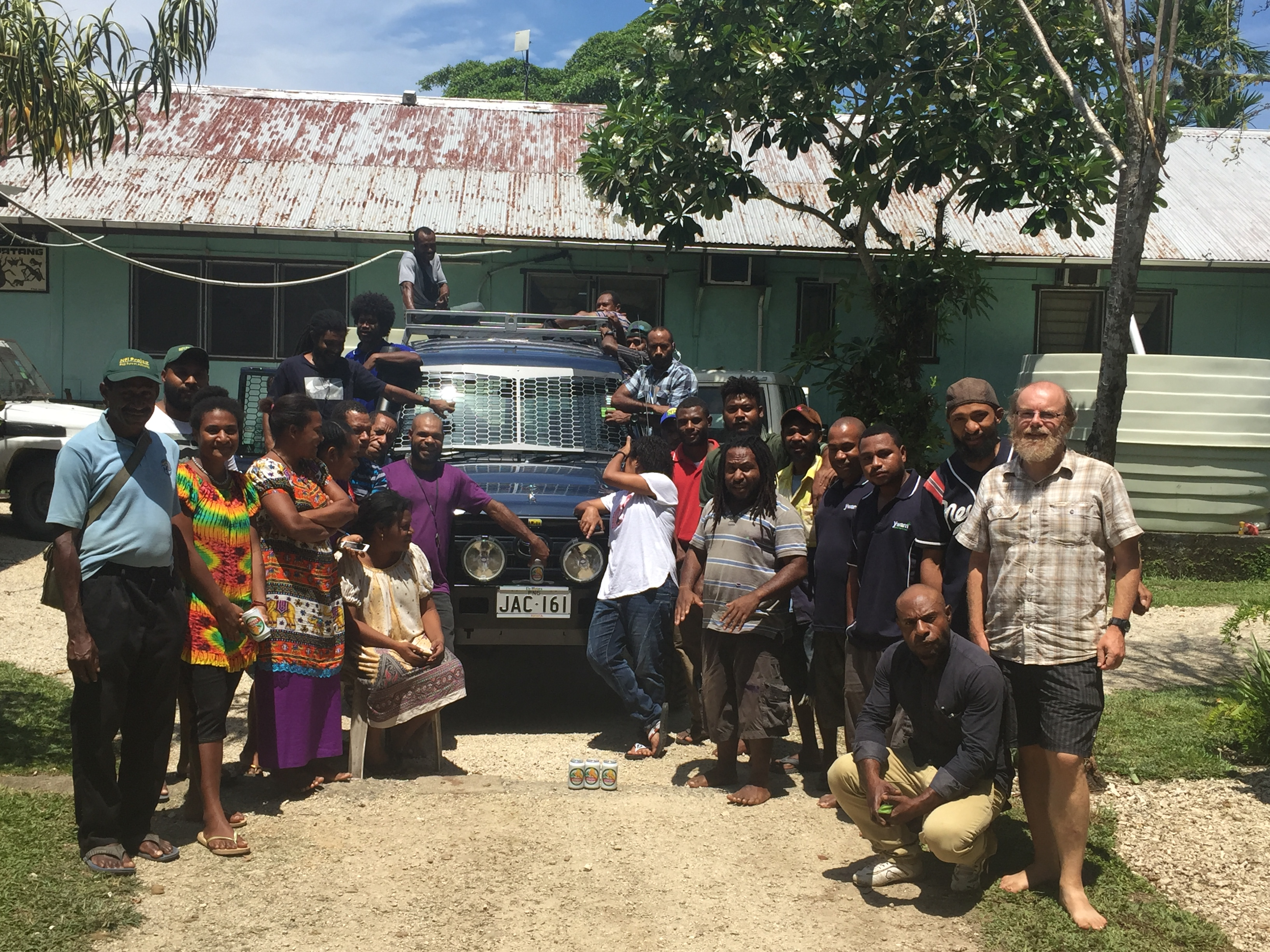 New Vehicle for New Guinea Binatang Research Center